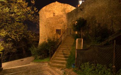 Rocca di notte
